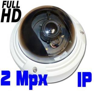 ONVIF kamera IP Full HD audio 2 MPX PoE kopulka SD
