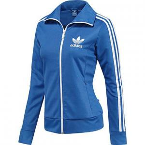 bluza adidas damska niebieska