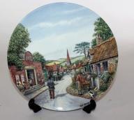 SYGNOWANY talerz Bensley porcelanowy Royal J15