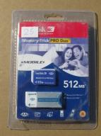 Sandisk Memory Stick Pro Duo 512MB + adapter PRO