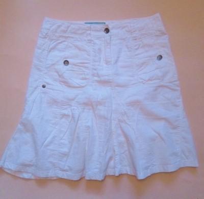 Esprit biała mini spódnica rozm. 34 XS