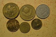 Rosja - 6 monet mało powtórek - BCM