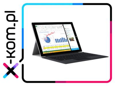 MICROSOFT Surface 3 128GB Win10 +Klawiatura Czarna