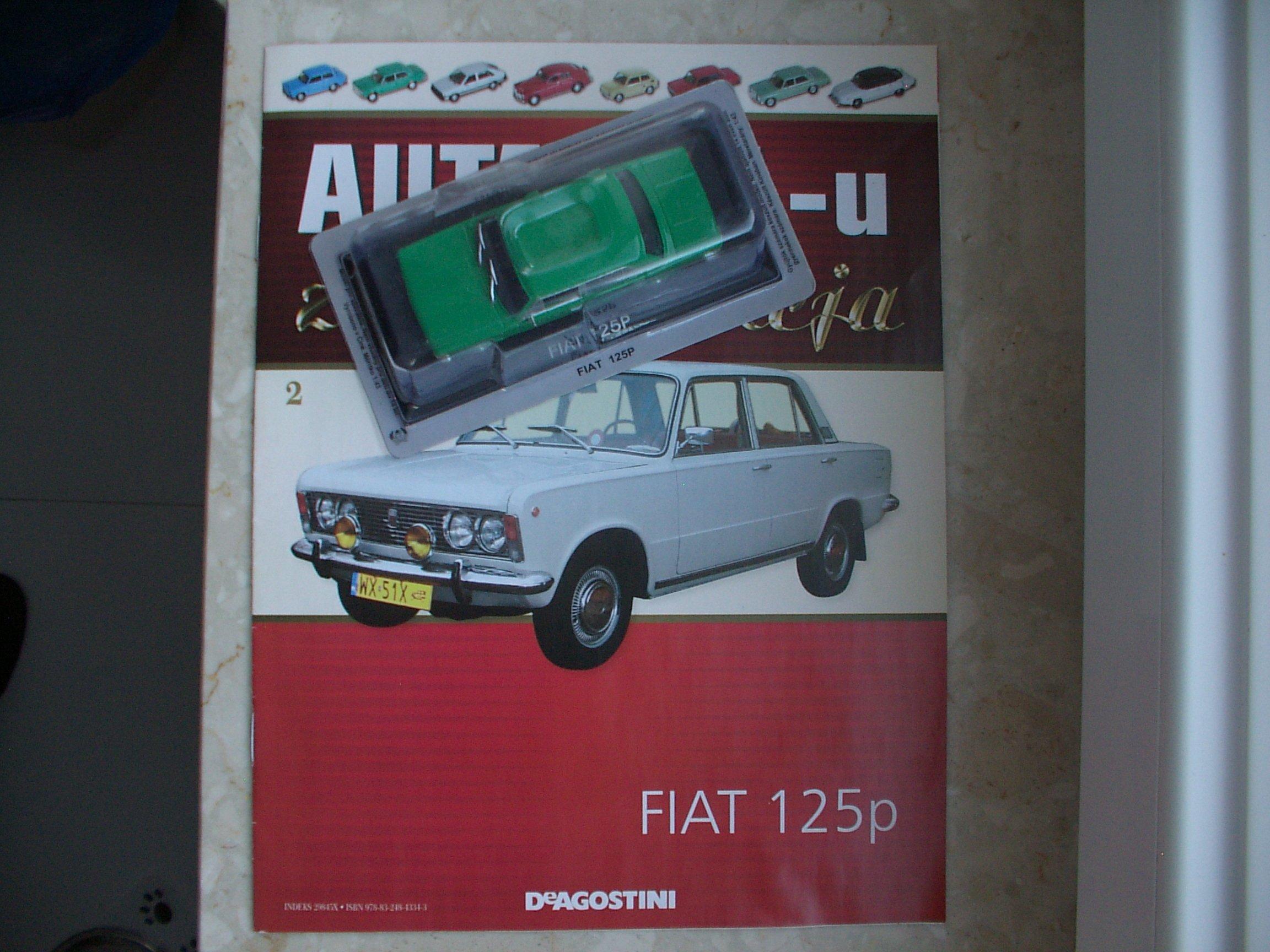 Fiat 125p Nowy Zlota Kolekcja Aut Prl Nr 2 7033398889 Oficjalne Archiwum Allegro