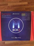 M Box2 - interfejs