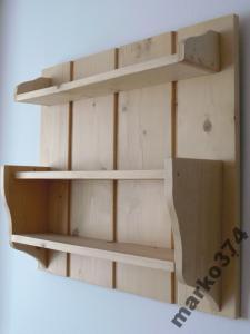 Półka Drewniana Do Kuchni Na Przyprawy 5979114403