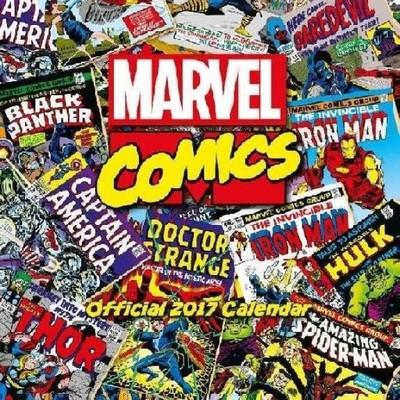Marvel Comics Okładki Kalendarz, Kalendarze 2017