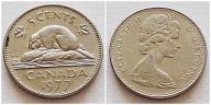Kanada 5 centów 1977r