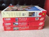 Puzzle Favorit 3 x 1000 i Trefl 2000 OKAZJ