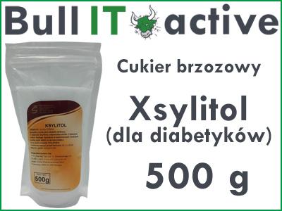 Ksylitol Xylitol Cukier brzozowy fiński spoży 500g