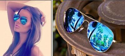 okulary ray ban damskie lustrzanki
