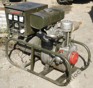 Nowość Wojskowy agregat prądotwórczy PAB-2 230V 2kW - 4621851433 UR53