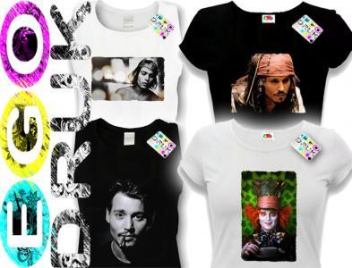 PIRACI Z KARAIBÓW Koszulka Johnny Depp Jonny M 2597432228  HTQZ4