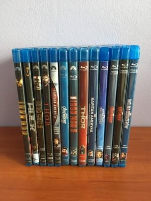 Marvel MCU pakiet 13 filmów