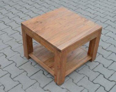 Mały Drewniany Stolik Akacja Indyjska 6054316913 Oficjalne