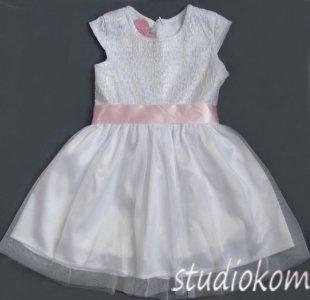 d7c876ce06 122 Sukienka biała komunia wesele BS153 - 6084807060 - oficjalne ...