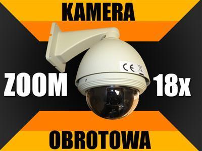 OBROTOWA kamera PTZ SONY zoom monitoring SONY_CCD
