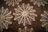 Serwetki koronkowe- Rękodzieło (+/- 20 cm)