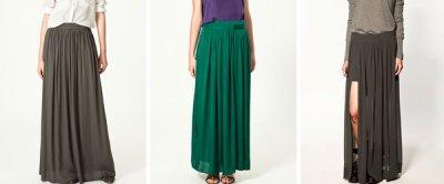 ZARA długa plisowana spódnica rozmiar S (M) Zdjęcie na imgED