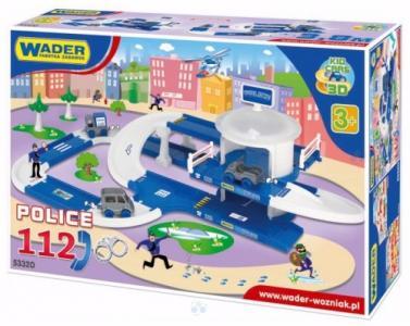 Zabawki Zestawy Garaż 3d Policja Wader Dla Dzieci 5737891851
