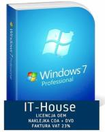 Windows 7 Professional PRO PL 32 BIT SP1 OEM FV23%