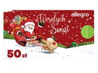 Karta Podarunkowa Boże Narodzenie - 50 zł