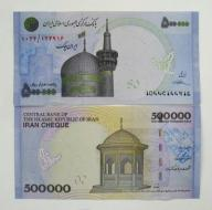IRAN 500000 Rials ND/2014 P-New UNC PIĘKNY !!