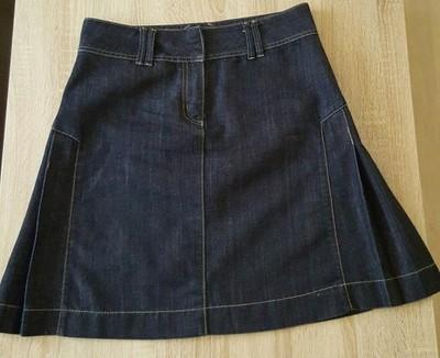 29f37121755e7f Rozkloszowana mini jeansowa spódnica reserved oasi - 6620249493 ...