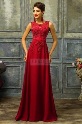 7da7c92a18 Czerwona długa suknia z perłami lejdi moda M 38 - 6590583735 ...