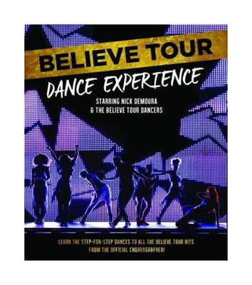 BELIEVE TOUR DANCE EXPERIENCE NICK DEMOURA Blu-Ray