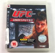 PS3 UNDISPUTED UFC 2009