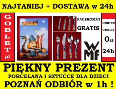 16d63365d89453 WMF 4x SZTUĆCE DZIECIĘCE WICKIE DZIECI POZNAŃ 24h - 5811890915 ...