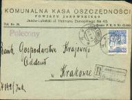 1939 - Janów Lubelski - polecony, KKO