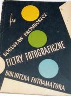 FILTRY FOTOGRAFICZNE. BIBLIOTEKA FOTOAMATORA. 1958