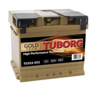 AKUMULATOR TUBORG GOLD TECH 52AH 520A P+