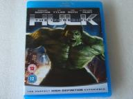 THE INCREDIBLE HULK  BLU-RAY DISC UK IDEAŁ