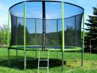 TRAMPOLINA SKYFLYER RING 2in1 427cm 14FT + Gratisy