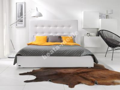 Paris Tapicerowane łóżko Materac 160x200 Wrocław