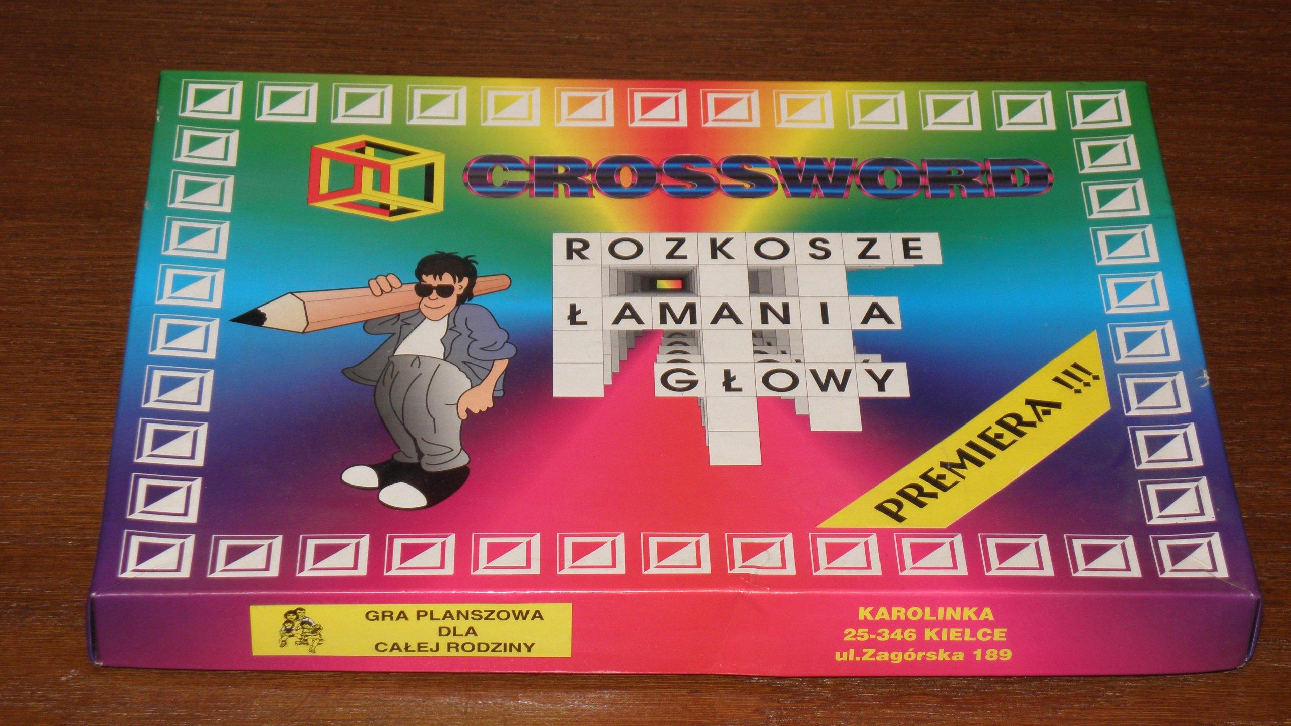 Gra Crossword Literaki 7060996239 Oficjalne Archiwum Allegro