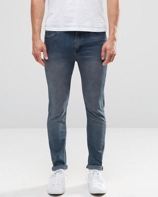 f69 spodnie Cheap Monday exASOS skinny W30 L34