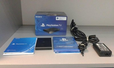 PLAYSTATION TV + 3 GRY