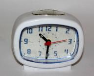 PODŚWIETLANY mały BUDZIK zegarek M48