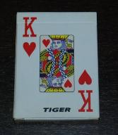 Casino Palying Cards Tiger