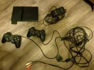 Konsola playstation 2 SLIM + 16 gier