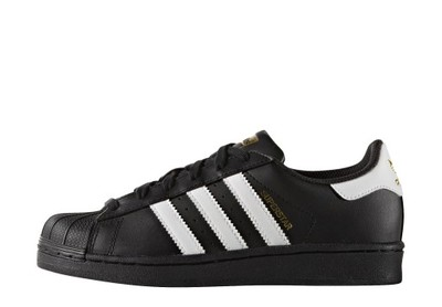 B23642 BUTY ADIDAS SUPERSTAR ORIGINALS r 38 CZARNE