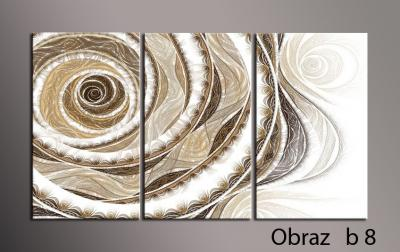 DeKo Obraz Tryptyk 75cm obrazy canvas ABSTRAKCJE