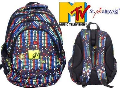 90e00a1cca166 MTV EQUALIZER PLECAK Szkolny Młodzieżowy 4 komory - 6577656147 ...