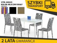 ARGUS stół 100x60 biały połysk