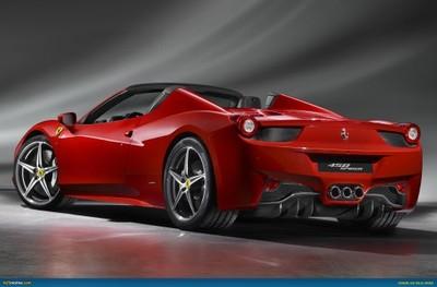 Kompletny Tyl Nadwozia Ferrari Italia 458 Spider 6601732563 Oficjalne Archiwum Allegro