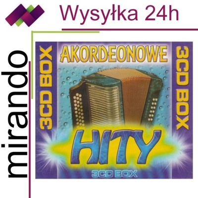 AKORDEONOWE HITY BOX - 3CD